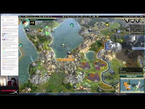 [Civ V: BNW] : Netherlands on Emperor 'make Toronto World leader' playthrough part 5