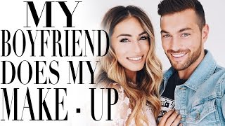 One of Lydia Elise Millen's most viewed videos: MY BOYFRIEND DOES MY MAKE UP | Lydia Elise Millen