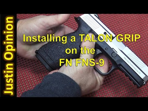Putting a Talon Grip on the FNS-9