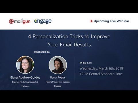 4 Personalization Tricks