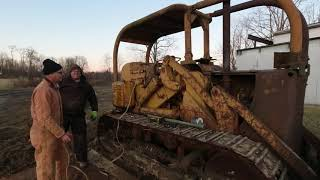 1961 CAT 977H Cold start after 10+ years sleeping