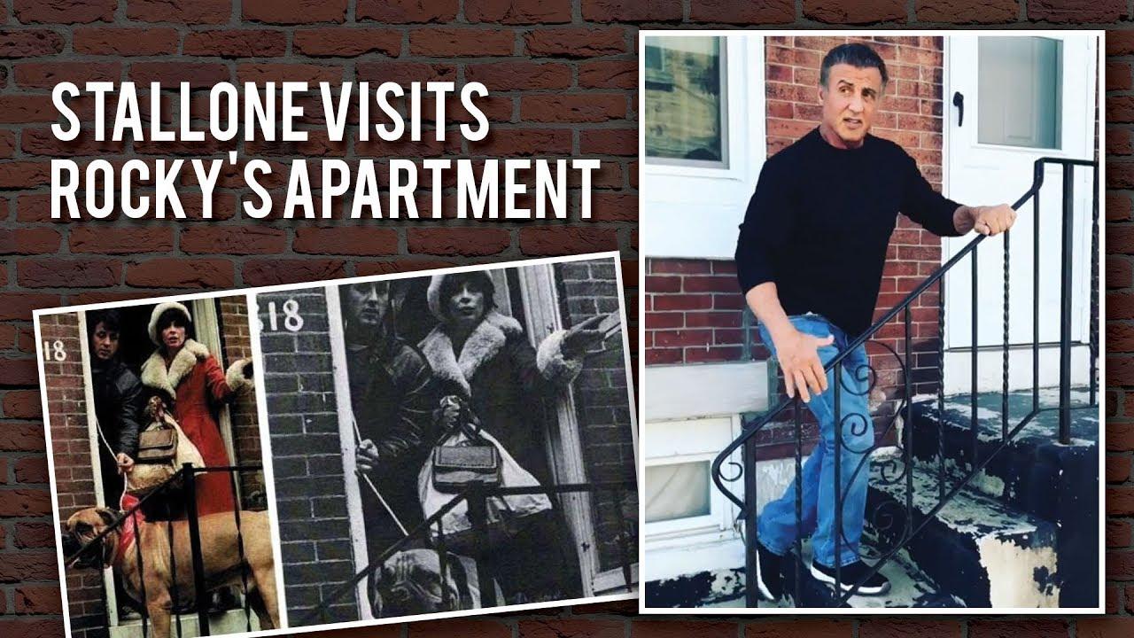 Sylvester Stallone Returns To Rocky Balboa S Apartment