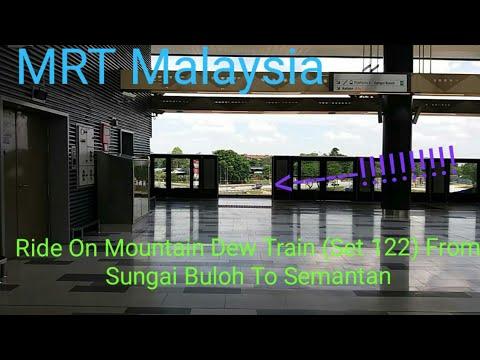 [EXCLUSIVE SSP LINE PLATFORM SCREEN DOORS TESTING] Full SBK Line From Sungai Buloh To Semantan