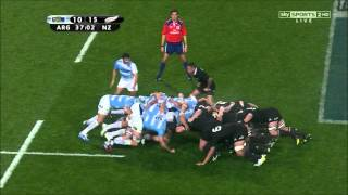 Pumas scrum dominates New Zealand