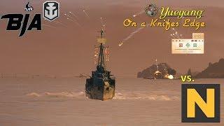 World of Warships- Yueyang- On a Knifes Edge (Monster Carry vs. Notser)