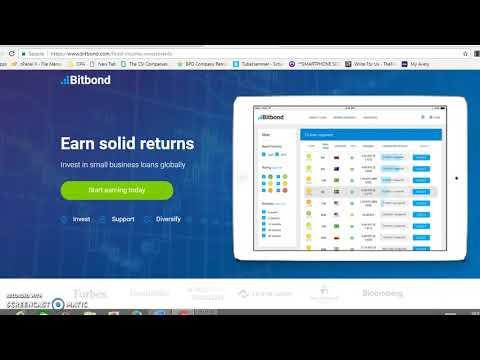 Bitbond.com First Look - New Bitcoin Lending Platform