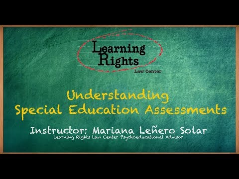Understanding Special Education Assessments