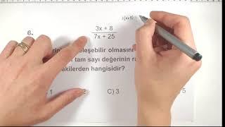 AYT Denemeleri Matematik 1.Fasikül Sorularının Çözümleri