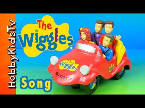 The Wiggles Big Red Car Toy + SONG HobKidsTV
