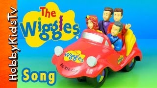 The Wiggles Big Red Car SONG Toy Open Bump N Go Big Red Car by HobbyKidsTV
