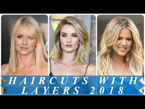 18 beautiful blonde layered hairstyles 2018 for women