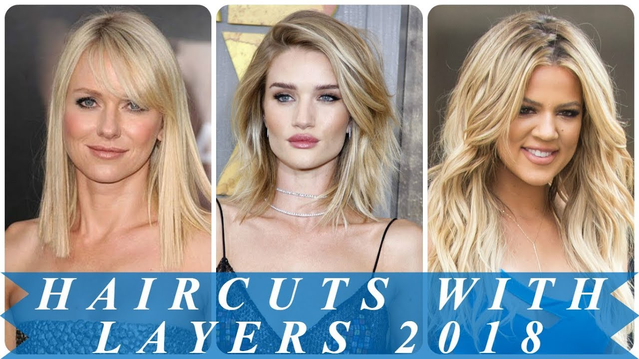 18 beautiful blonde layered hairstyles 2018 for women - youtube