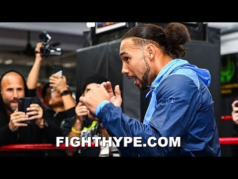 KEITH THURMAN TELLS CRAWFORD HE'LL HAVE TO DROP KHAN OR DOMINATE TO IMPRESS; SAYS