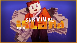BACK ON TRACK! - Survival Island Ep. 3 - Minecraft Pocket Edition