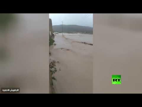 اللحظات الأولى بعد انهيار سد في اليمن  - نشر قبل 3 ساعة