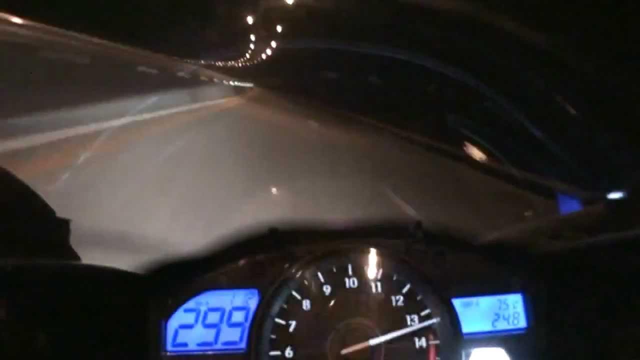 Yamaha YZF- R1 Top Speed - YouTube