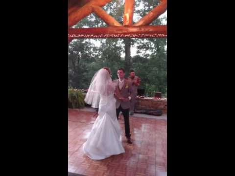 The First Dance as Mr and Mrs Stephen Byrne