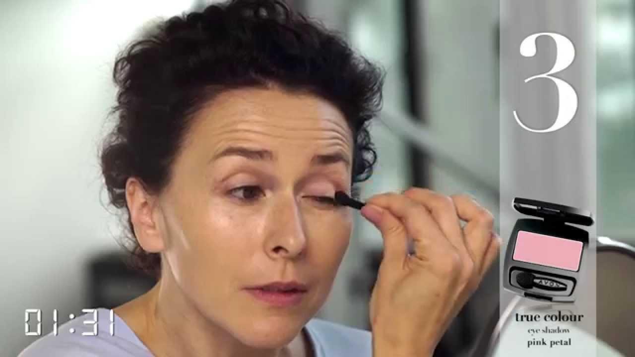 Avon Tutorial 5 Minuten Tagesmakeup Für Reife Haut Youtube