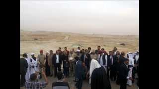 المجلس القومى لشئون القبائل المصرية  فى زيارة لمواقع الحفر ديسمبر2014