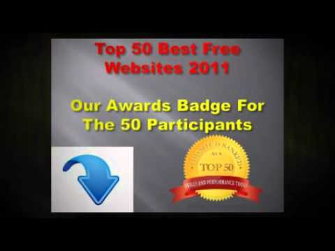 Best Free Websites 2011- Top 50 by Learn New Skills Blog