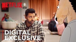 Just A Couple Questions ft. Hasan Minhaj & BoJack Horseman | Netflix