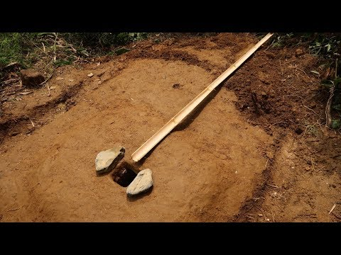 Primitive Technology: Toilet (WC) Part-2