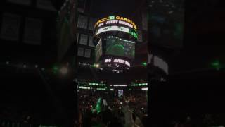 Boston Celtics Intro Game 1 Playoffs | Celtics vs Bulls