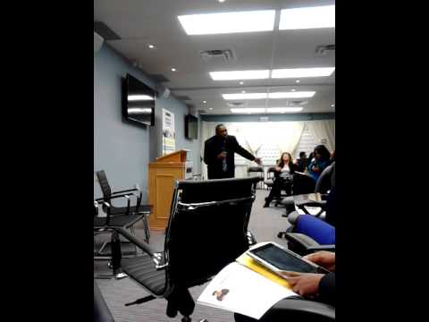 Dr. Isaac Newton @ Black Business and Professional Association (BBPA) launch