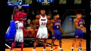 NBA Showtime: NBA on NBC (Dreamcast) Miami VS. Denver Game 1
