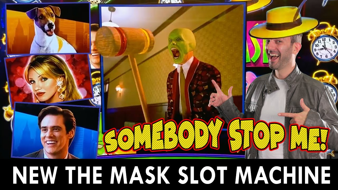 OMG 😱 NEW!! The Mask SLOT MACHINE 🎰 Somebody STOP ME!