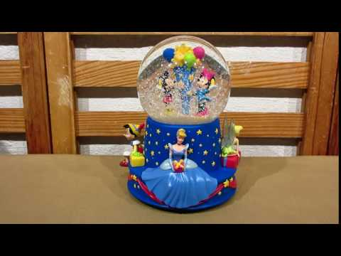 Hallmark Disney 100th Birthday Musical Water Globe