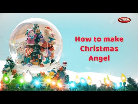 Christmas Angel Making in Bengali | How to make Angel Wings | Xmas Diy Projects For Kids