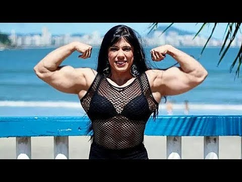 Fbb Muscles Girl | Selma Labat | Female Bodybuilding | Gym Workout