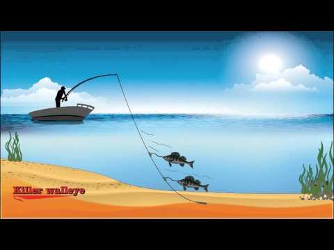 """Best Walleye Secrets Lures """"Killer Walleye"""", Walleye Fishing Tips & Techniques #1"""