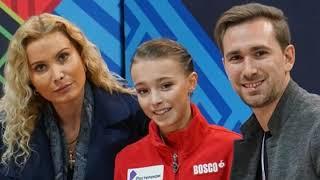 За что Тарасова любит Тутберидзе и Глейхенгауза Cup of China 2019 комментарии