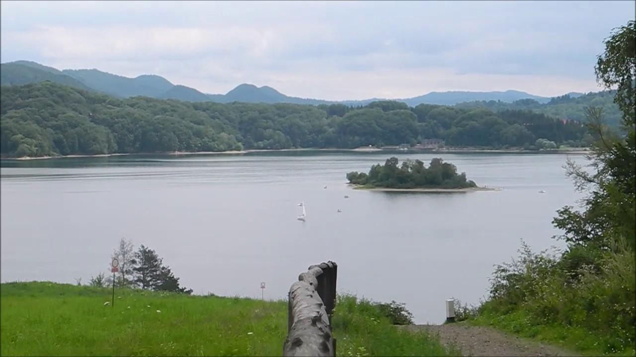 Bieszczady Polańczyk Jezioro Solińskie Punkt Widokowy