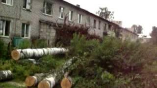 Ураган Лен.область.Последствия п.Сосново июль 2010(, 2010-07-30T17:02:27.000Z)