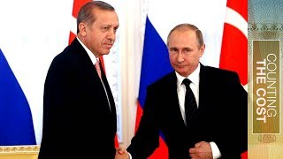 Turkey and Russia: The billion dollar handshake - Counting the Cost