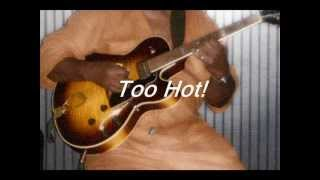 Victor Hodge performing...Too Hot by:Cool and the Gang