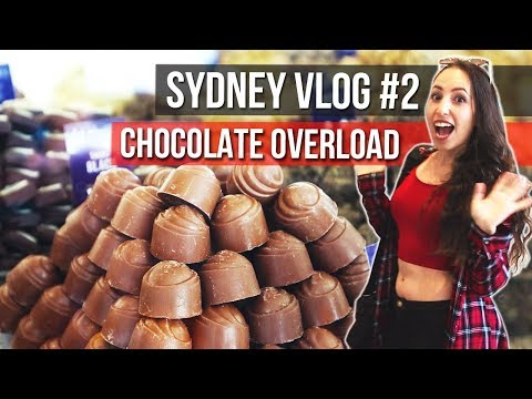 Travel Sydney   Vlog #2 Handmade Chocolates + HOT Chocolate - Parramatta Eats With Taste Food Tours
