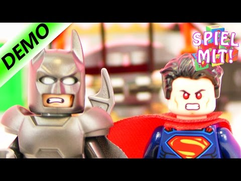 LEGO BATMAN & SUPERMAN Demo - Clash of the Heroes 76044 - Spiel mit mir Kinderspielzeug