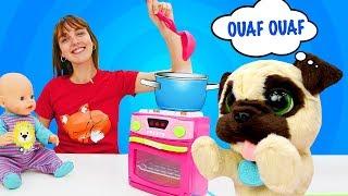 Compilation des vidéos pour enfants. Bébé born Emilie en français. Meilleurs épisodes
