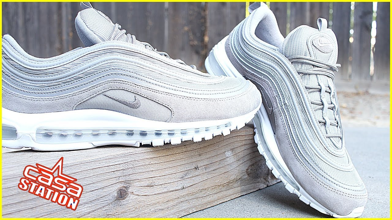 more photos c2a91 91cc7 Nike Air Max 97 CobbleStone | CobbleStone White | Sneaker Review + On Feet  #casastation
