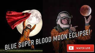 LIVE Hosting Super moon eclipse