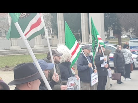 Холокост44. Геноцид Чеченцев и Ингушей 1944 г. Митинг в Вене