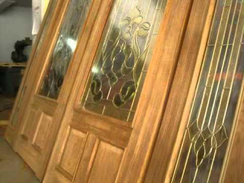 ตัวอย่างประตูไม้สักบานคู่ @ บ้านไม้