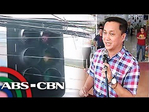 Donasyong traffic lights, dinayo ni Tolentino sa Legazpi