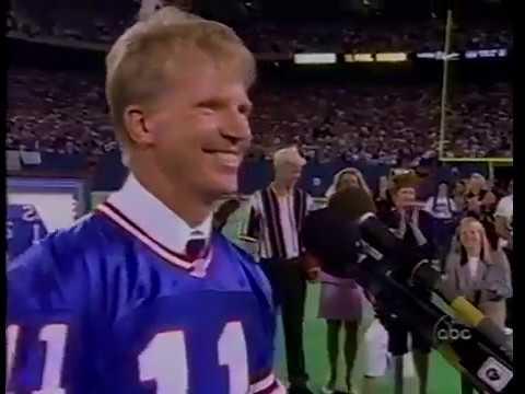 Phil Simms Jersey Retirement Ceremony - Giants vs. Cowboys MNF 1995