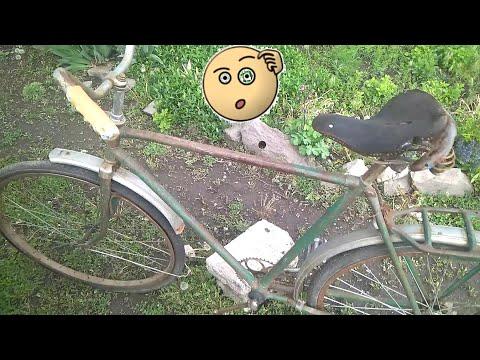 Купил самый дешевый и убитый велосипед, донор ММВЗ для проектов.