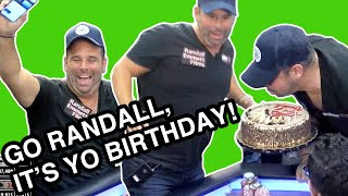 Hollywood Producer Plays Monster Pots on Birthday ♠ Live at the Bike!